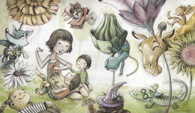Ilustraciones de cuento