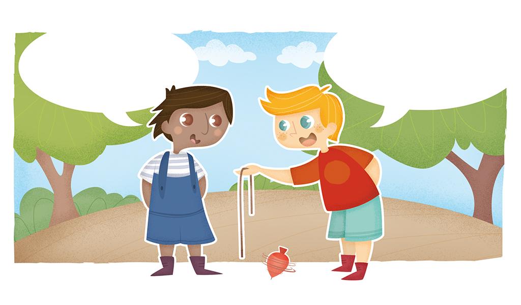 Ilustración infantil. Children's illustrations. Editorial Anaya.