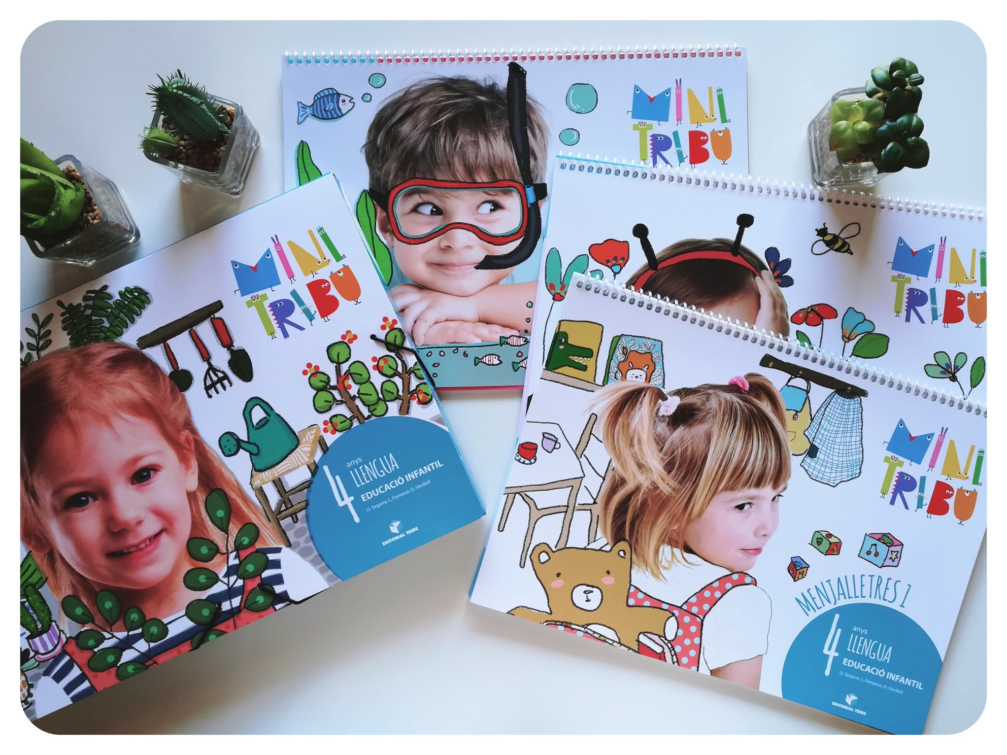 Ilustración infantil. Children's illustrations. Editorial Teide.