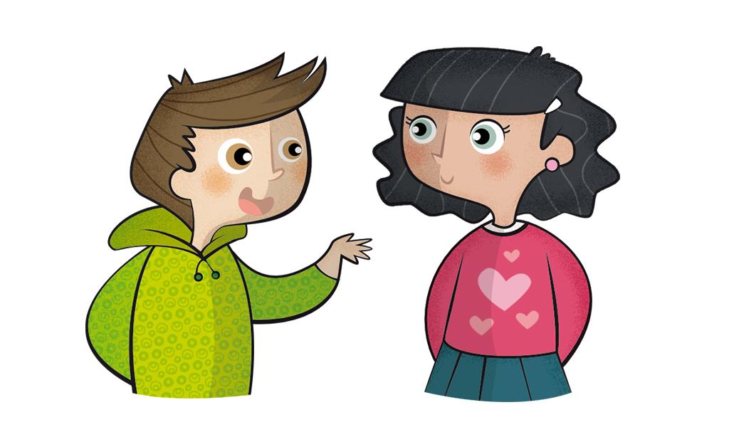 Ilustración infantil. Children's illustrations. Editorial Teide.