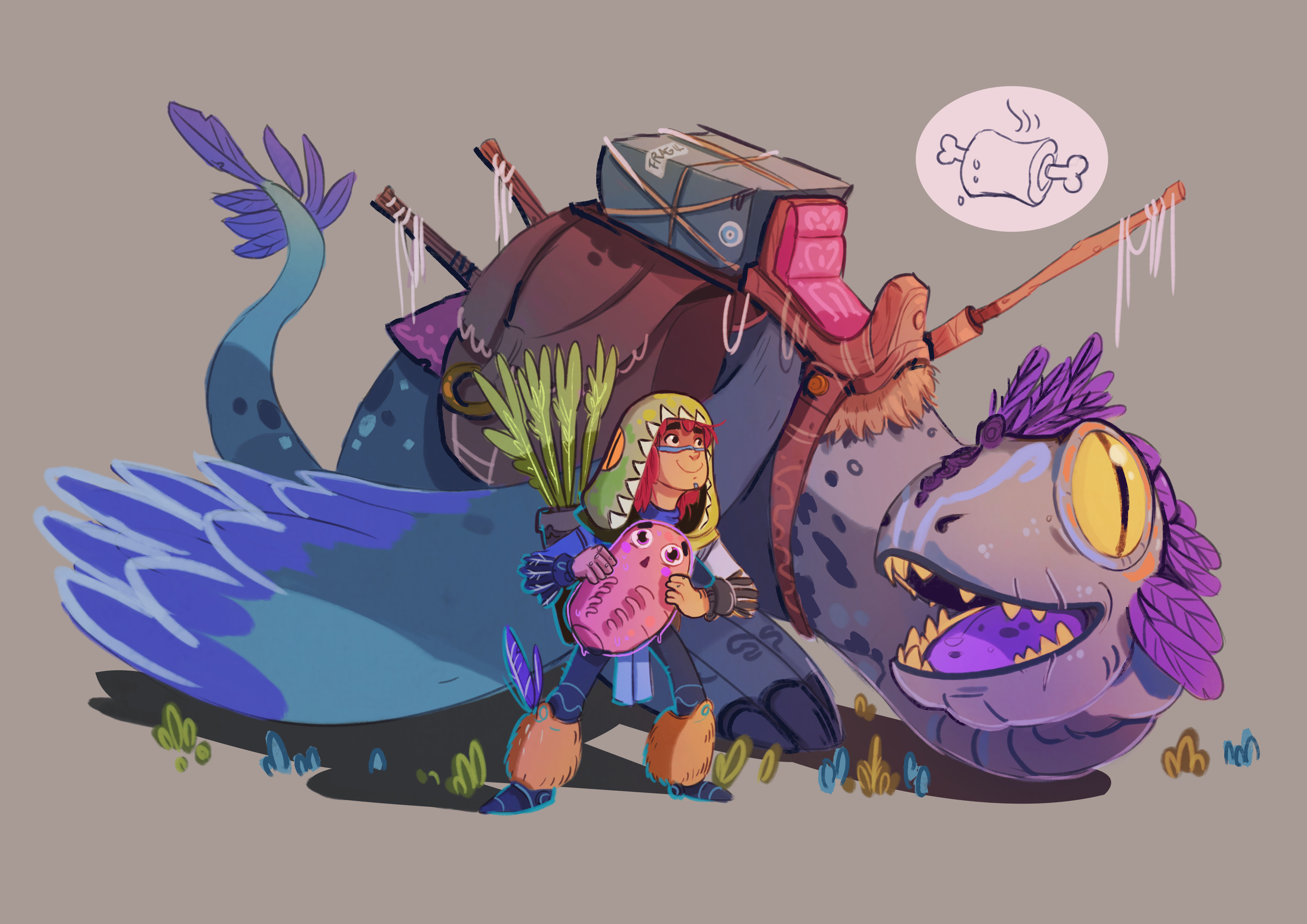 DRAGONS&DRAGONRIDERS CHARACTER