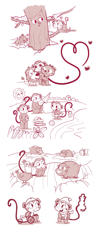 bocetos_ilustracion_infantil_tico_proyecto_veo_veo