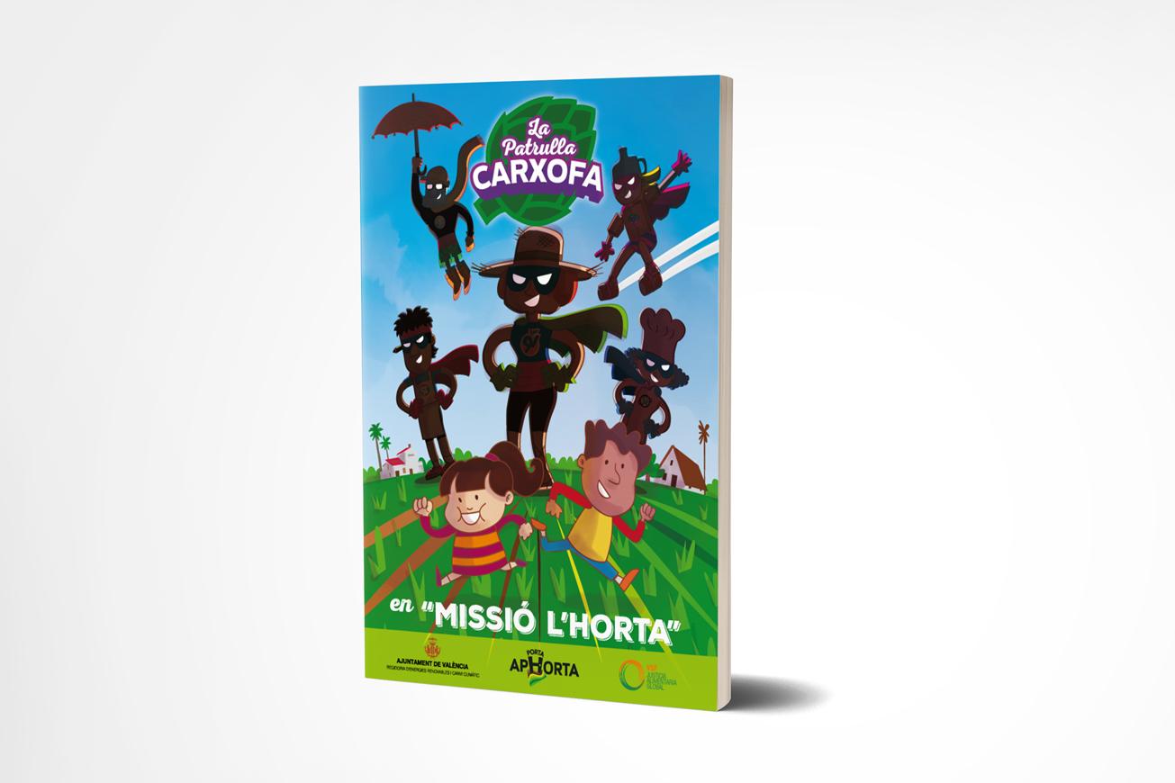 La Patrulla Carxofa (Álbum de cromos)