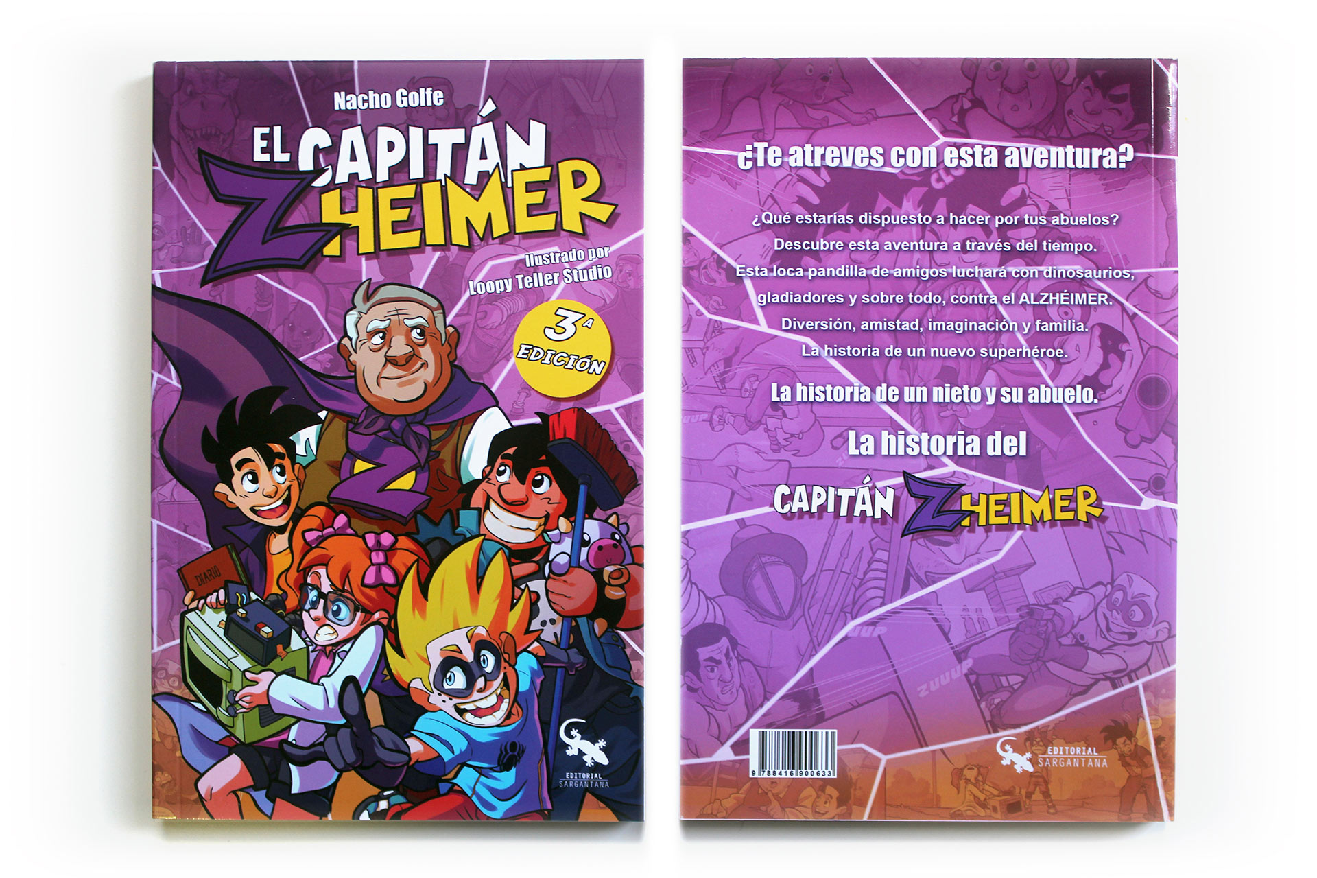 El Capitán Zheimer 1- Libro ilustrado