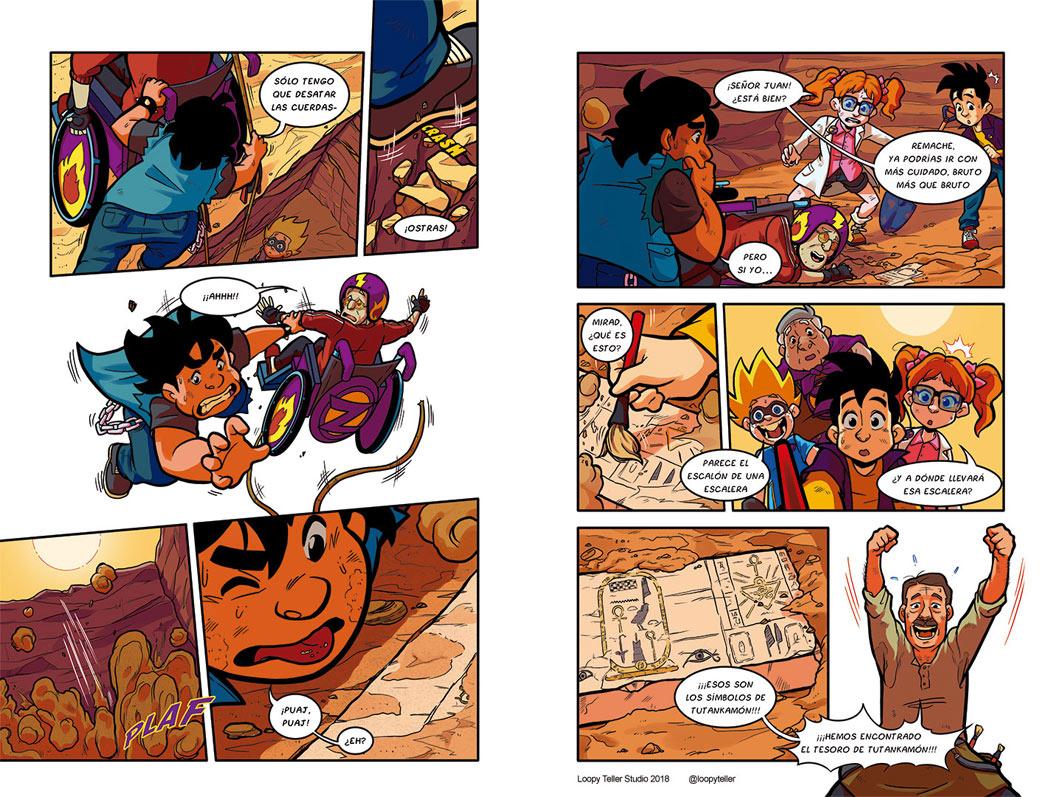 El Capitán Zheimer 2 – Libro ilustrado