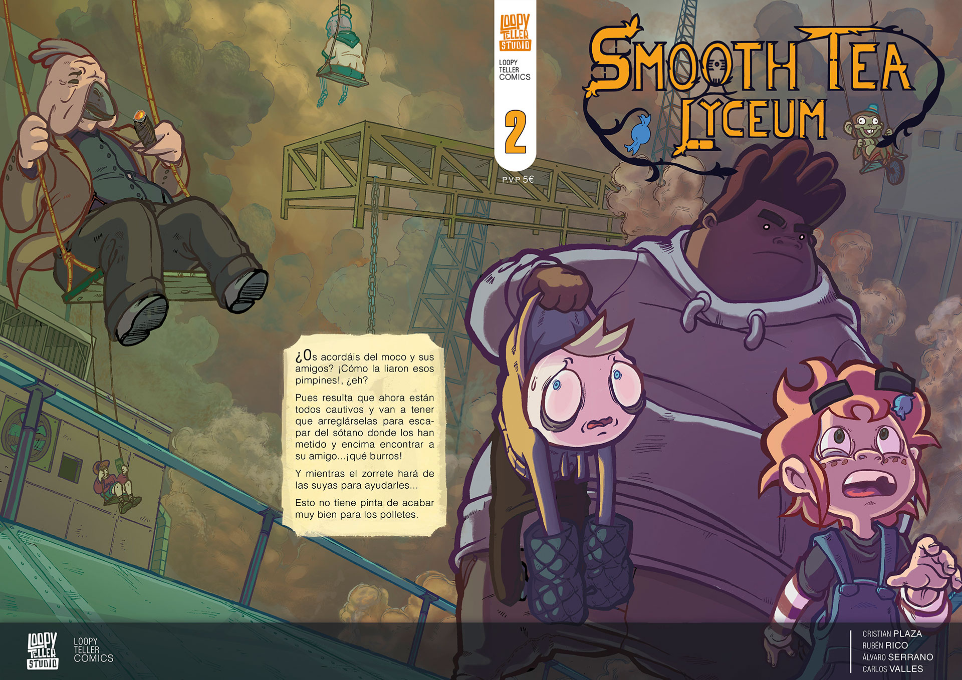 Smooth Tea Lyceum – Fanzine autoeditado