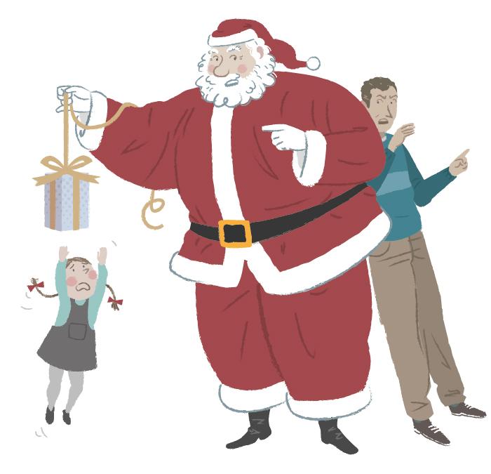 Papa-Noel-amenazado