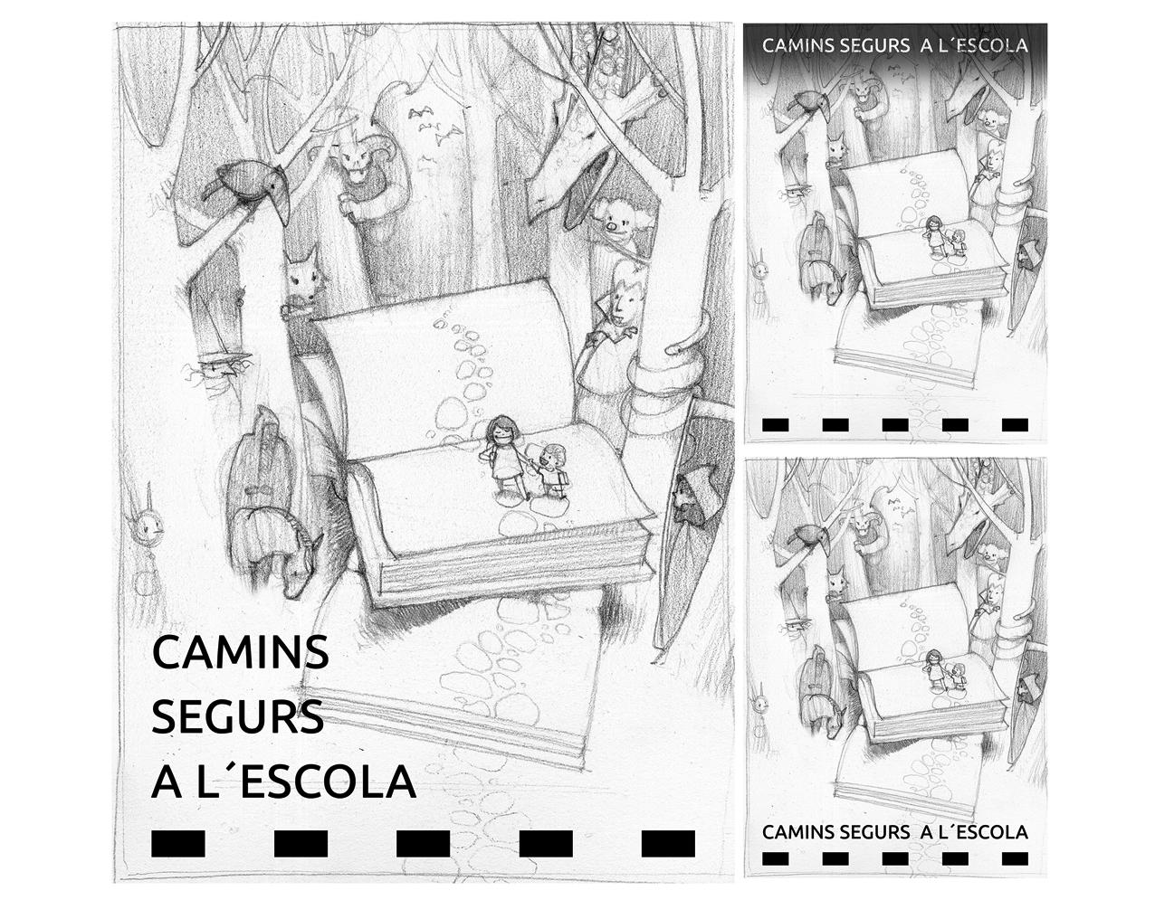 Ilustración (y proceso) para cartel