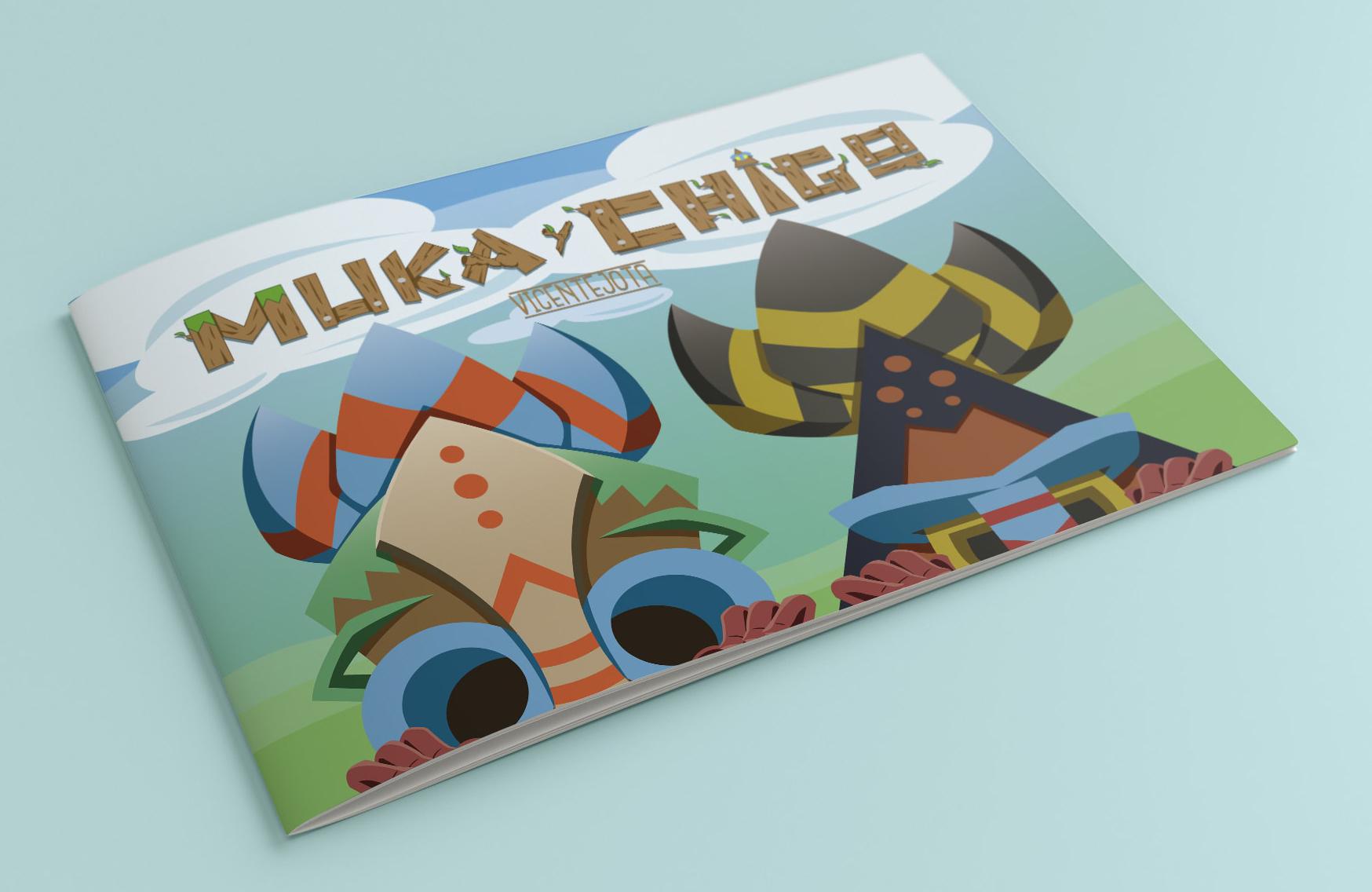 """""""Muka y Chigo"""" Proyecto de álbum ilustrado"""