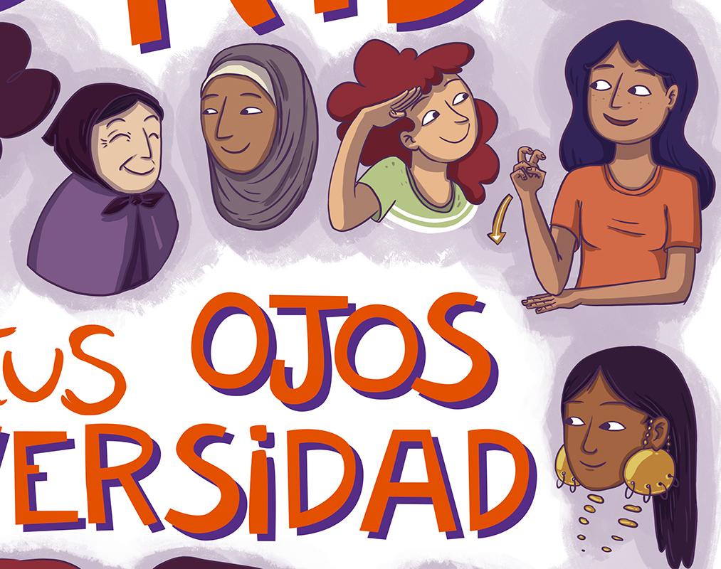 Todas vivimos en Madrid, abre tus ojos a la diversidad