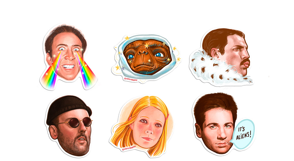 Pop! Stickers