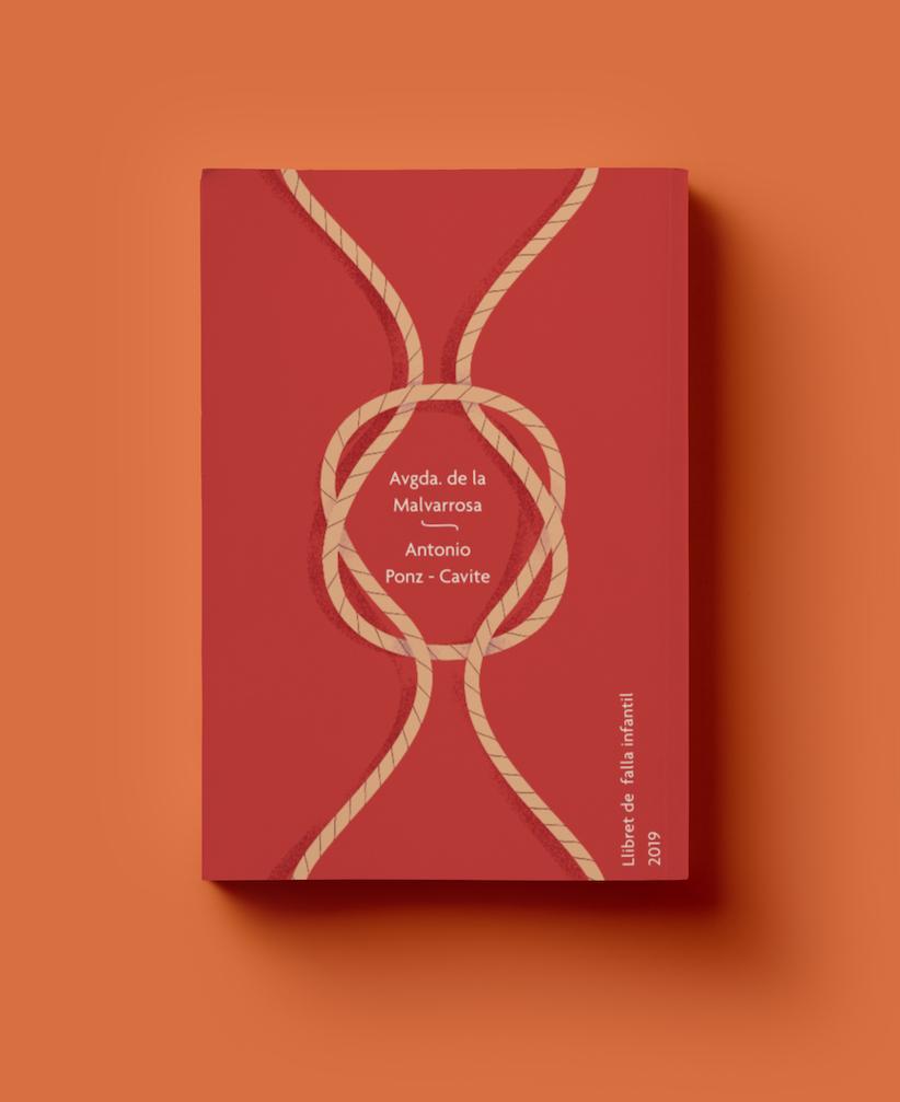 Llibret Falla Malvarrosa 2019