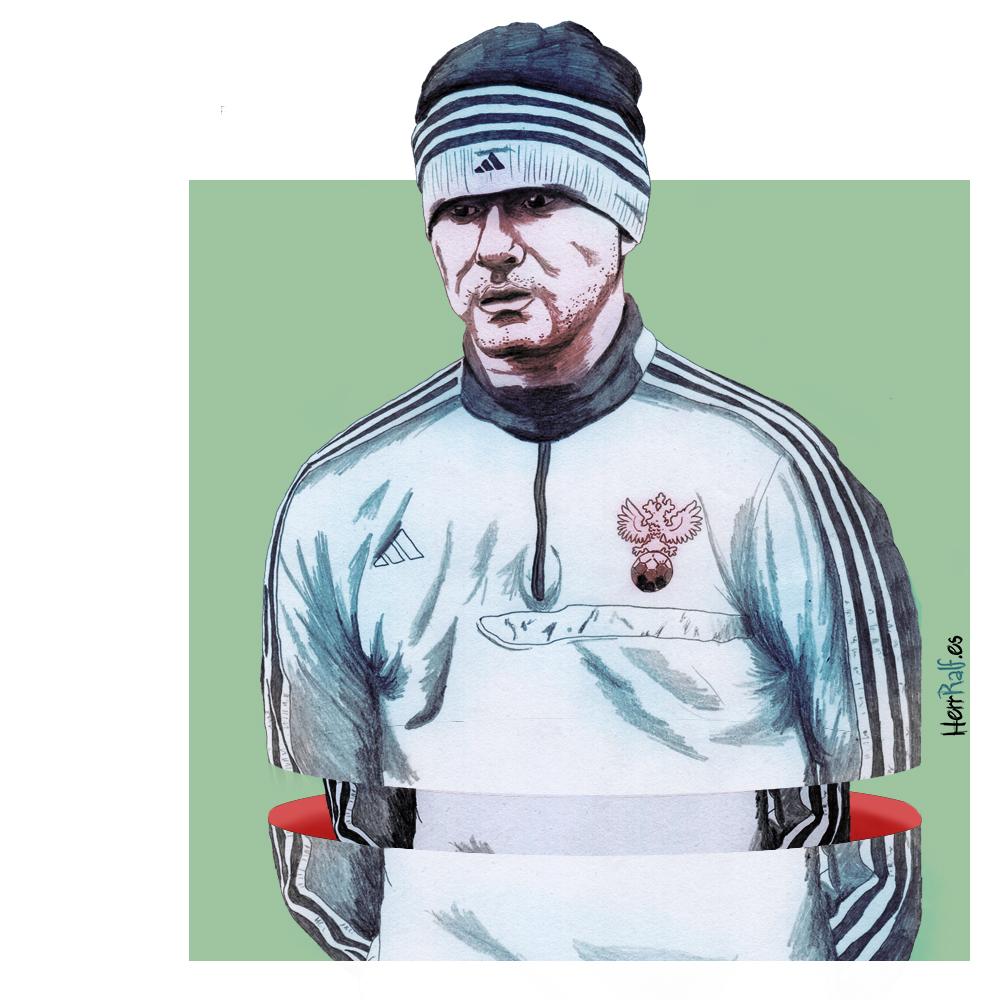 Mundial de Fútbol 2018 en ilustraciones
