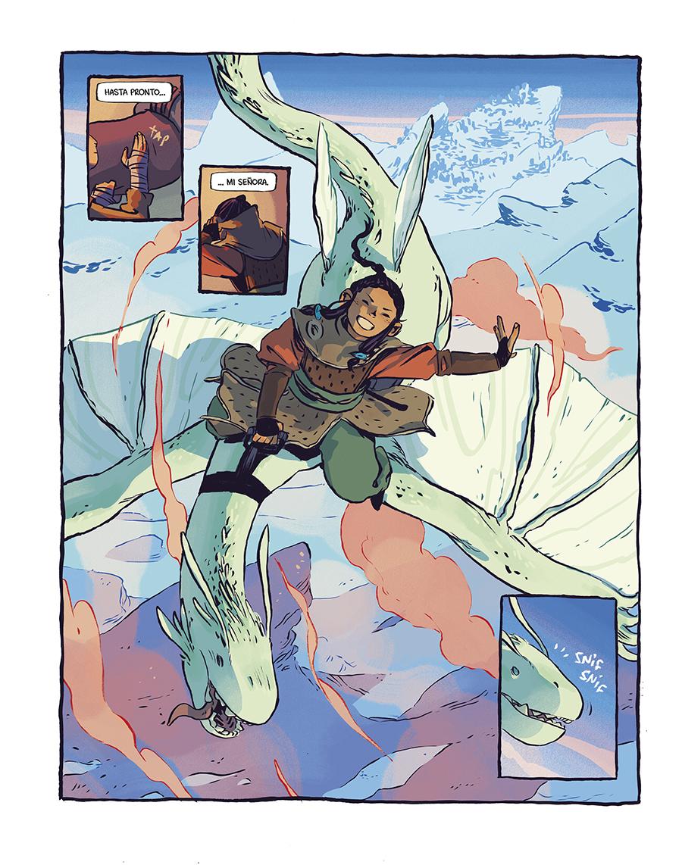 Sello de dragón – Saga de tebeos