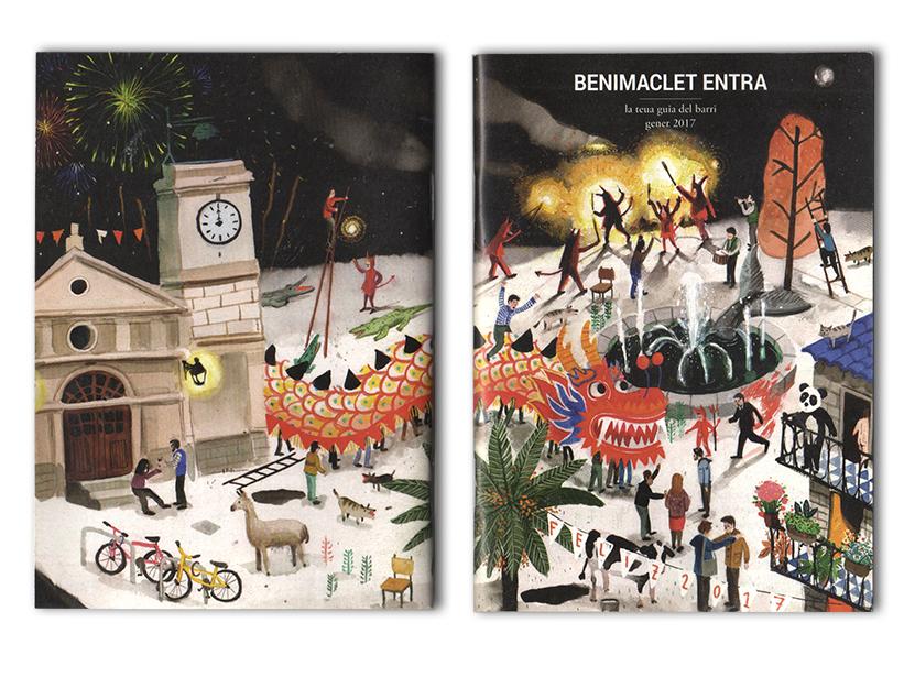 Benimaclet entra Enero 2017