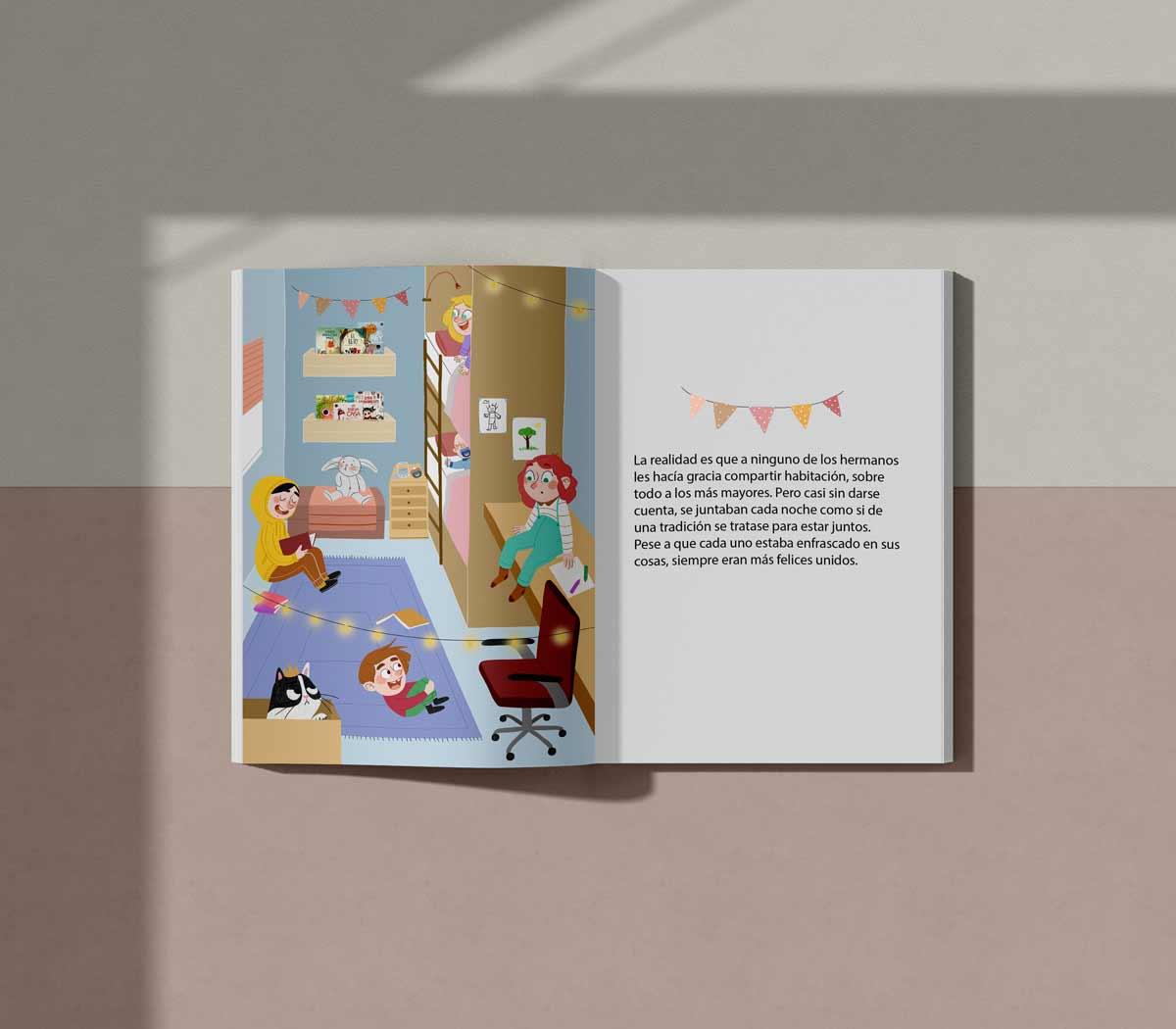 Ilustración editorial infantil