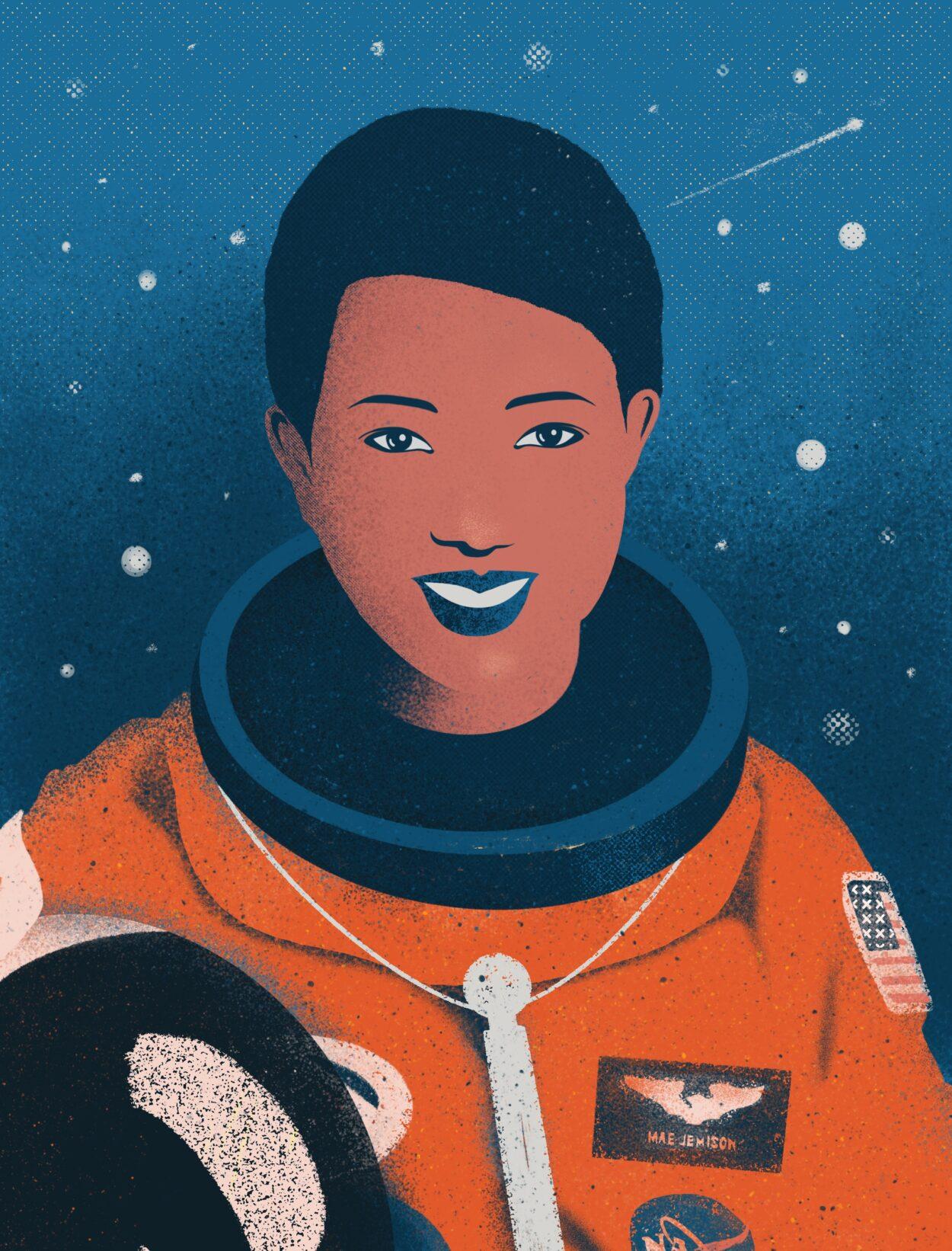 La primera dona astronauta afroamericana que va viatjar a l'espai a bord del transbordador Endeavour.
